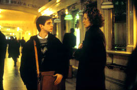 Aaron Stanford and Sigourney Weaver in Tadpole