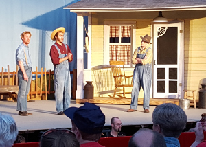 Erik Wilson, Alexander Toth, and Nathan Windt in The Tender Land
