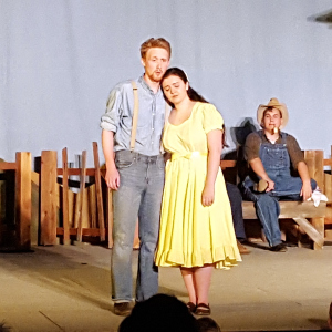 Erik Wilson and Laurie Bawden in The Tender Land