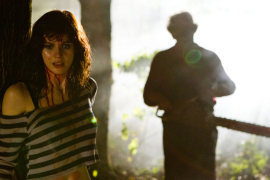 Alexandra Daddario and Dan Yeager in Texas Chainsaw