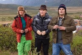 Owen Wilson, Steve Martin, and Jack Black in The Big Year