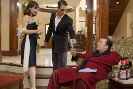 Jennifer Garner, Rob Lowe, and Ricky Gervais in The Invention of Lying
