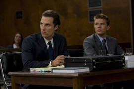Matthew McConaughey and Ryan Phillippe in The Lincoln Lawyer