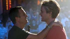 Mark Ruffalo and Taylor Kitsch in The Normal Heart