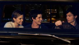 Emma Watson, Logan Lerman, and Ezra Miller in The Perks of Being a Wallflower