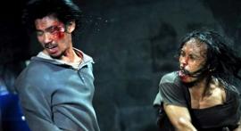 Doni Alamsyah and Yayan Ruhian in The Raid: Redemption