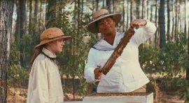 Dakota Fanning and Queen Latifah in The Secret Life of Bees