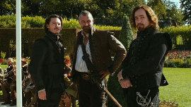 Luke Evans, Ray Stevenson, and Matthew Macfadyen in The Three Musketeers