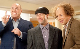 Will Sasso, Chris Diamantopoulos, and Sean Hayes in The Three Stooges