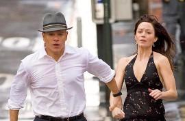 Matt Damon and Emily Blunt in The Adjustment Bureau