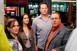Winona Ryder, Jennifer Connelly, Vince Vaughn, and Kevin James in The Dilemma