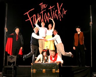 The Fantasticks' ensemble