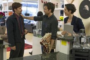 Joel Edgerton, Jason Bateman, and Rebecca Hall in The Gift