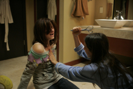 Haley Bennett and Marin Hinkle in The Haunting of Molly Hartley
