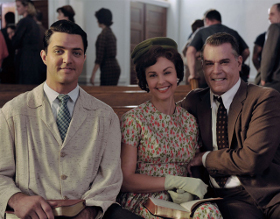 Blake Rayne, Ashley Judd, and Ray Liotta in The Identical