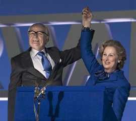 Jim Broadbent and Meryl Streep in The Iron Lady