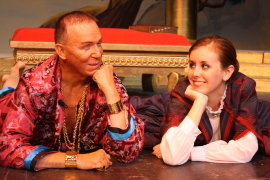 Harold Truitt and Jennifer Sondgeroth in The King & I