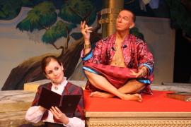 Jennifer Sondgeroth and Harold Truitt in The King & I