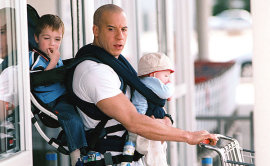 Vin Diesel in The Pacifier