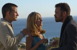 Campbell Scott, Patricia Clarkson, and Peter Sarsgaard in The Dying Gaul