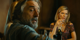 Robert De Niro and Michelle Pfeiffer in The Family