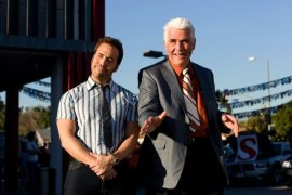 Jeremy Piven and James Brolin in The Goods: Live Hard, Sell Hard