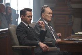 Robert Downey Jr. and Robert Duvall in The Judge