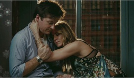 Jason Bateman and Jennifer Aniston in The Switch