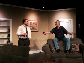 Matt Moody and Michael Carron in Things Being What They Are