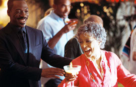 Eddie Murphy and Ruby Dee in A Thousand Words