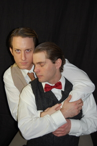 Adam Cerny and Thomas Alan Taylor in Thrill Me: The Leopold & Loeb Story