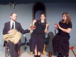 Jonathan Kasch, Bethany Jones, and Sarah Murphy in Haunted Lives