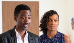 Chris Rock and Rosario Dawson in Top Five