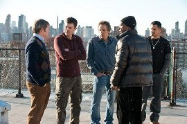 Matthew Broderick, Casey Affleck, Ben Stiller, Eddie Murphy, and Michael Pena in Tower Heist