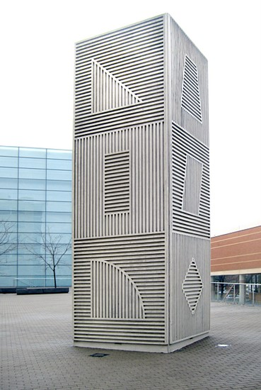 Sol LeWitt, 'Tower.' Photo by Bruce Walters.