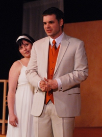 Jaci Entwisle and Andy Koski in Troilus & Cressida