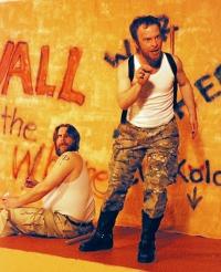 Matt Moody and J.C. Luxton in Troilus & Cressida