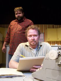 Jeremy Mahr and Mike Schulz in True West