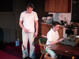Eddie Staver III and Andrew Harvey in True West