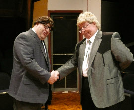 Bruce Carmen and John VanDeWoestyne in Greater Tuna