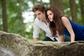 Robert Pattinson and Kristen Stewart in The Twilight Saga: Breaking Dawn, Part 2