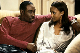 Morris Chestnut and Viveca A. Fox in Two Can Play That Game