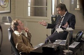 Matthew McConaughey and Al Pacino in Two for the Money
