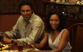 Rick Fox and Angela Bassett in Tyler Perry's Meet the Browns