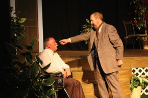Bil Peiffer and Michael Carron in Uncle