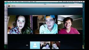 Shelley Hennig, Will Peltz, Moses Jacob Storm, Jacob Wysocki, and Renee Olstead in Unfriended