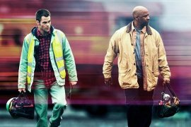 Chris Pine and Denzel Washington in Unstoppable