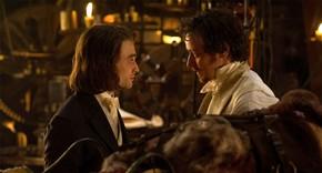 Daniel Radcliffe and James McAvoy in Victor Frankenstein