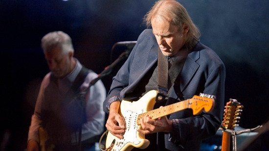 Walter Trout last month at Royal Albert Hall