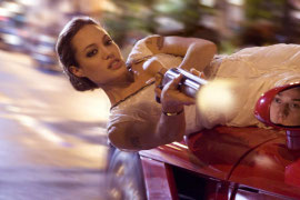 Angelina Jolie in Wanted
